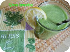 DELICIOUS GREEN SMOOTHIE: The Better Baker