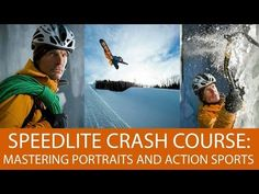 ▶ Speedlite Crash Course: Mastering Portraits and Action Sports With Small Strobes - YouTube