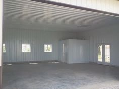 1000 images about pole barn ideas on pinterest morton for Metal building interior designs