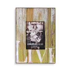 "Barnwood Distressed Wood 5"" x 7"" Frame - Live - Bed Bath & Beyond"