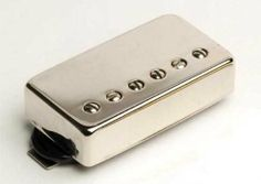 Seymour Duncan SH1 59 Model Humbucker Pickup (Neck, Nickel Cover) by Seymour Duncan. $89.95. The most important thing about the vintage Patent Applied For pickup was its warm, smooth tone and sustain that was unlike anything heard before. The SH-1 is built with the same kind of enameled wire, nickel-plated studs, and balanced coil windings that humbucker inventor Seth Lover used in his first pickups. It looks and sounds just like a '59. Single conductor cable ...