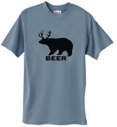 Bear + Deer = BEER   #lol #FunnyHunting