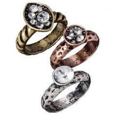 Tri-Tone 3 Ring Set - Target Online Clearance