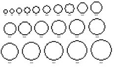 Minecraft Circle Template is a very popular video game where the players are required to mine objects called blocks and place them elsewhere Minecraft Bauwerke, Minecraft Circles, Minecraft Building Guide, Minecraft Cheats, Minecraft Images, Minecraft House Designs, Minecraft Survival, Minecraft Construction, Amazing Minecraft