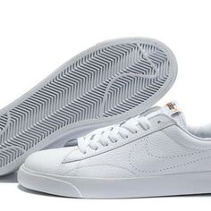 Cheap Nike Blazer Low Men All White Shoes Big discount