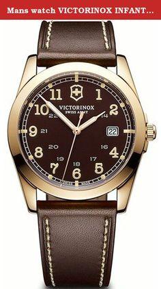 Mans watch VICTORINOX INFANTRY V241645. Victorinox watch.