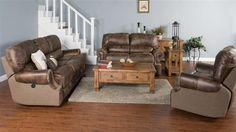 Montana Mesquite Cushion Back 3pc Living Room Set