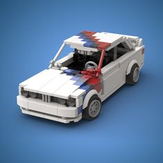 Lego BMW Group A really car moc scale - Stubbo Bmw E30 M3, Weird Cars, Cool Cars, Legos, Amg Logo, Low Poly Car, Car 3d Model, Lego Pictures, Amazing Lego Creations