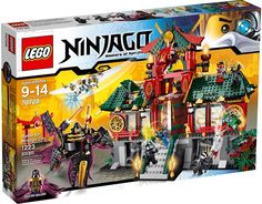70728 Battle for Ninjago City