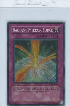 Radiant Mirror Force - FOTB-EN055 - Super Rare Yu-Gi-Oh!