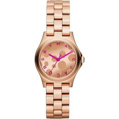 Gold watches women Marc by Marc Jacobs