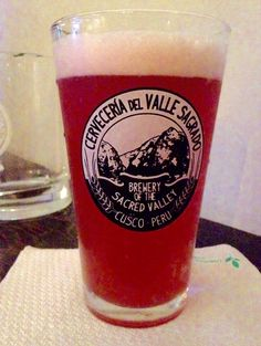 Sauco Sour from Cerveceria del Valle. Bronze medal in its category in 2015 South Beer Cup.  Amazing!