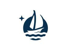 Sailboat for sale blue boat mark logo sky ocean ship sailing sailboat Symbol Design, Logo Design, Ship Logo, Sailboats For Sale, Church Logo, Blue Boat, Artist Logo, Home Logo, Pictogram