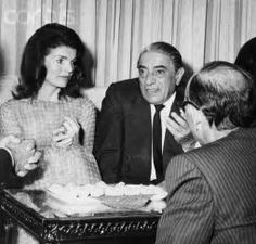 Image result for jackie kennedy and aristotle onassis