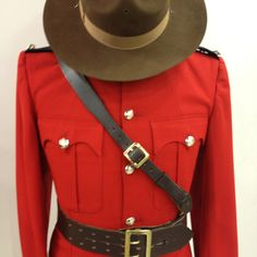 Mountie Costume.  www.tdf.org/costumes