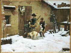 """""""Il ritorno"""", Giovanni Battista Quadrone"""
