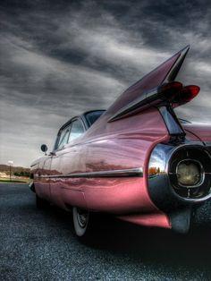 Pink Cadillac - Nice vintage ride