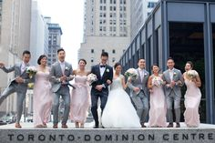 Romance in the Financial District and The Incomparable Warehouse Event Centre Party Photos, Wedding Photos, Downtown Toronto, Toronto Wedding, Party Fun, Bridesmaid Dresses, Wedding Dresses, The Chic, Best Part Of Me
