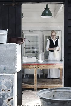 Alastair Hendy has created the obvious complement to Hendy's Home Store with his Home Store Kitchen where guests who have come to explore the shop and peruse the wares can also stop for a bite to eat.