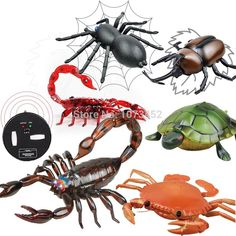 Best Drones Here: Infrared simulati...  Visit us: http://cheap-drones-vr.myshopify.com/products/infrared-simulation-funny-remote-control-animals-rc-scorpion-spider-nail-crab-tortoise-juguetes-que-caminan-gift-toy-for-boy?utm_campaign=social_autopilot&utm_source=pin&utm_medium=pin