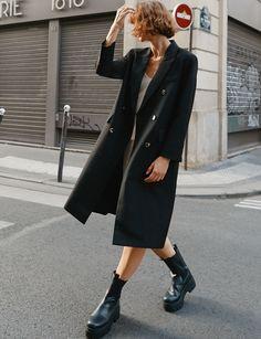 Long Winter Coats, Long Wool Coat, Winter Coats Women, Long Coats, Women's Coats, Dress Coats For Women, Fall Coats, Trench Coats, Black Coat Outfit