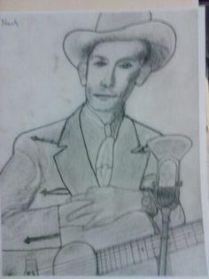 My sketch of old Hank