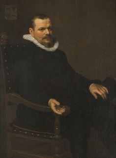 Nicolaes Eliasz Pickenoy, Portrait of Laurens Joosten Baack, 1629 - Johannesburg Art Gallery