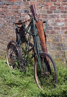 1900 Dursley Pedersen 'detachable' military bicycle