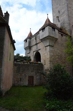 Town of Rothenburg ob der Tauber - middle Franconia, Bavaria - Germany