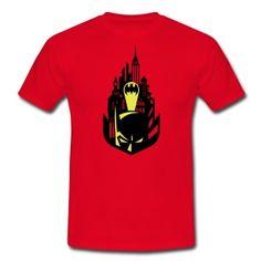 Batman Maske und Batman Logo T-Shirt für Männer