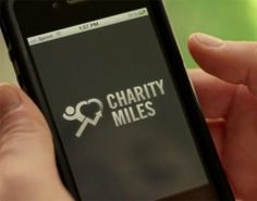 Charity Miles... donates money to charities for every mile that you walk/run/bike! Wow...