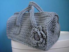Ravelry: Crochet Duffel Purse pattern by Dedri Uys