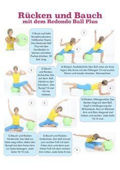 Bauch und Rücken Training!