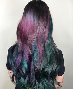 Oil slick hair @KortenStEiN