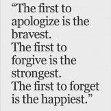 First To Forget – Life Quote