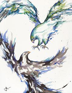 Marc Allante  Clash Art Print