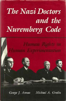Nuremberg Code - For the set of guidelines for determining what constitutes a war crime, see Nuremberg Principles. For the denaturalization of German Jews, see Nuremberg Laws.  The Nuremberg Code is a set of research ethics principles for human experimentation set as a result of the Subsequent Nuremberg Trials at the end of WWII and consiting of The ten points of the Nuremberg Code