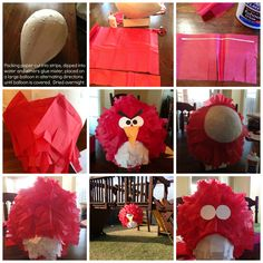 DIY Angry Birds Pinata Festa Angry Birds, Bird Birthday Parties, Party Fiesta, First Birthdays, Balloons, Projects To Try, Diy Crafts, David, Party Ideas