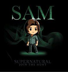 Sam & Dean Winchester Shotgun Shuts His Cakehole T-Shirt Supernatural Cartoon, Supernatural Outfits, Supernatural Drawings, Supernatural Fan Art, Supernatural Wallpaper, Sam Winchester, Winchester Brothers, Castiel, Fanart