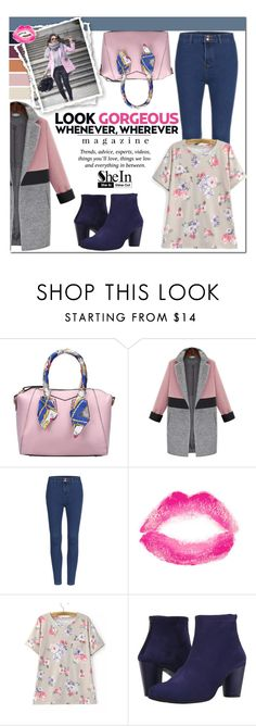 """""""SheIn #9 (III)"""" by cherry-bh ❤ liked on Polyvore featuring Topshop, Arche, Pussycat, women's clothing, women's fashion, women, female, woman, misses and juniors"""