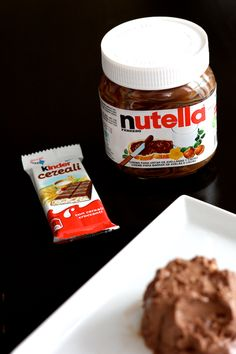 glace Nutella kinder country