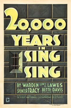 Watch 20,000 Years in Sing Sing (1932) Full Movie Online Free