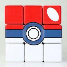 Poké Ball Rubik's Cube