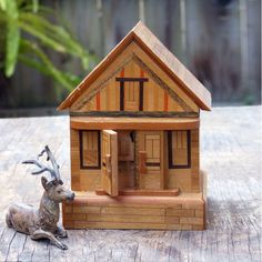 Japanese Puzzle Box House Bank