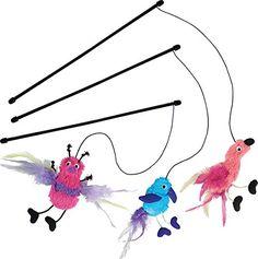 KONG Active Feather Teaser Catnip Toy, Assorted KONG https://www.amazon.com/dp/B00C69H49I/ref=cm_sw_r_pi_dp_x_1cKqybNGK2S4H