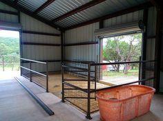 panel horse barns inside - Google Search