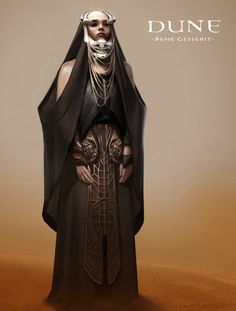 Amazing costume idea for Bene Gesserit witches by Bruno Gauthier Leblanc