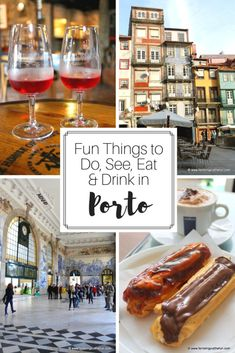 Looking for fun things to do in Porto? From the famed Port wine cellars to the UNESCO-listed Ribeira across the Douro River, this city has tons to offer. Portugal Vacation, Portugal Travel Guide, Travel Advice, Travel Tips, Travel Guides, Travel Destinations, Stuff To Do, Things To Do, Port Wine