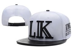 e5b395755c8 Use Discount Code  HALLOWEEN14 Last Kings Snapback LK White