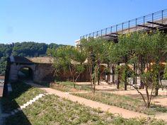 Fort Saint Jean jn Lyon (France). By In Situ Landscape Architects.
